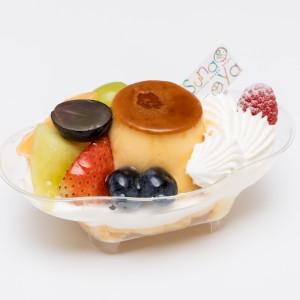 ケーキ プリンアラモード